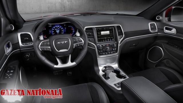 Interior Jeep Grand Cherokee 2014
