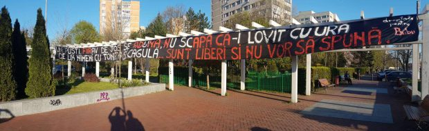 Mesajul dinamoviștilor FOTO: gsp.ro