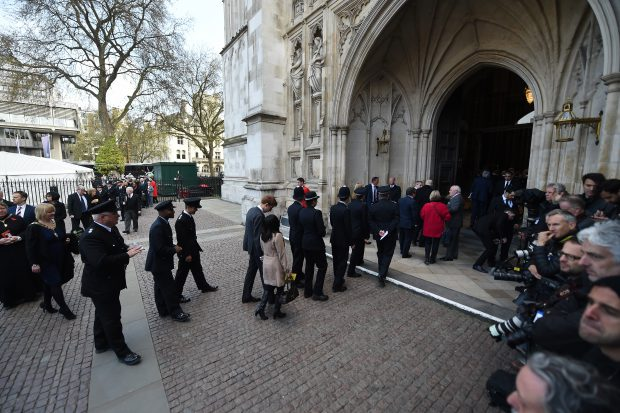 Ceremonia de la Catedrala Westminster