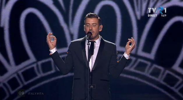 Francisco Gabbani, din Italia, în finala Eurovision 2017