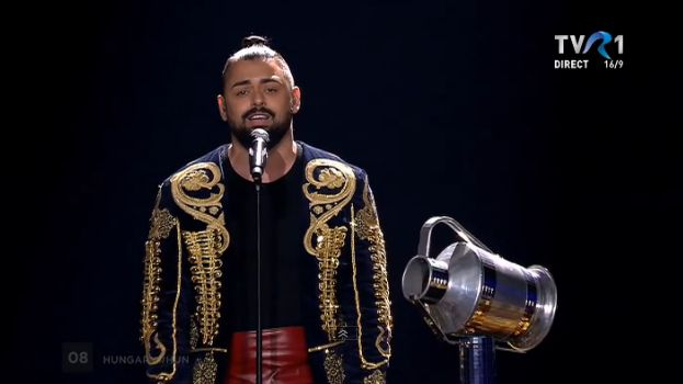 Joci Papai, din Ungaria, în finala Eurovision 2017