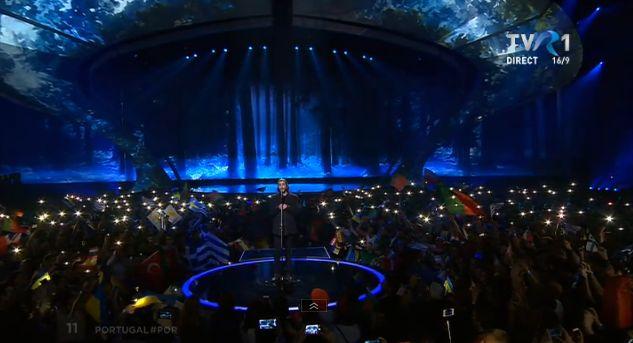 Salvador Sobral, din Portugalia, în finala Eurovision 2017