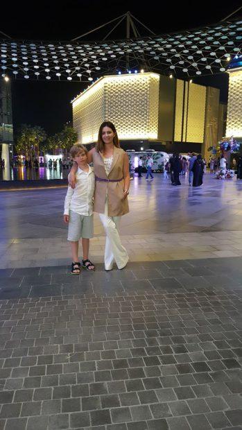Ela Crăciun, vacanță în Dubai