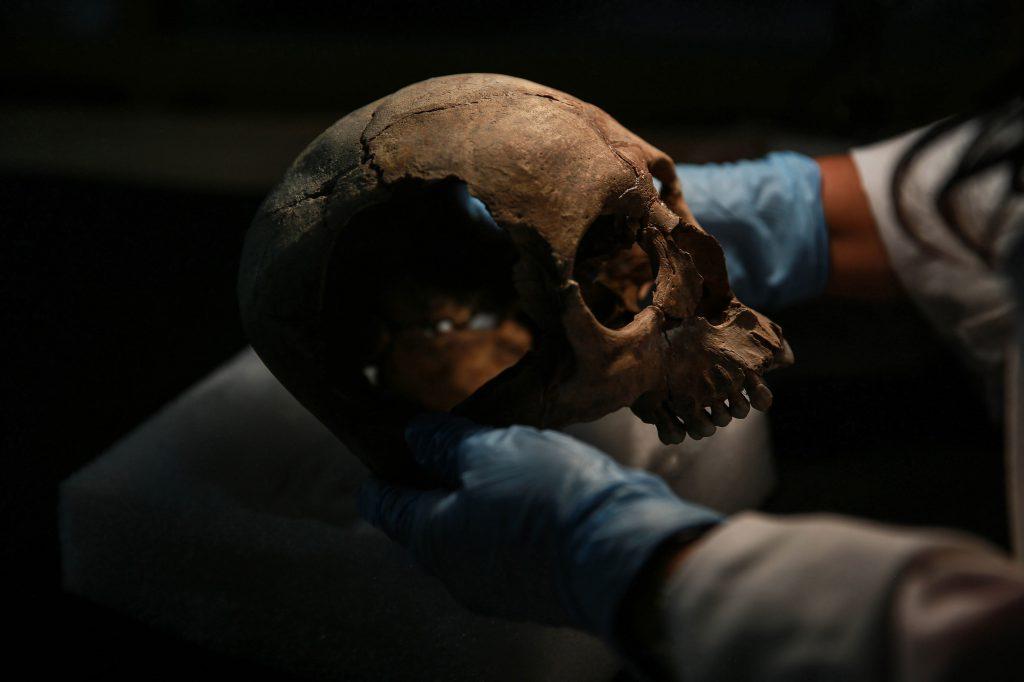 Un turn din peste 650 de cranii umane