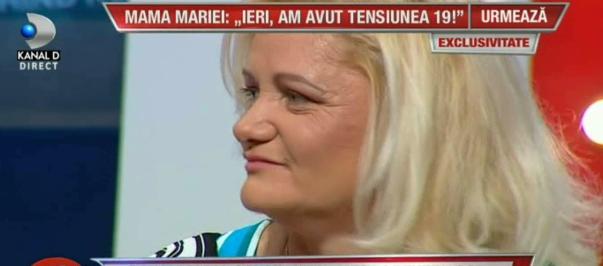 Mama Mariei Constantin, primele declarații după ce a fost internată