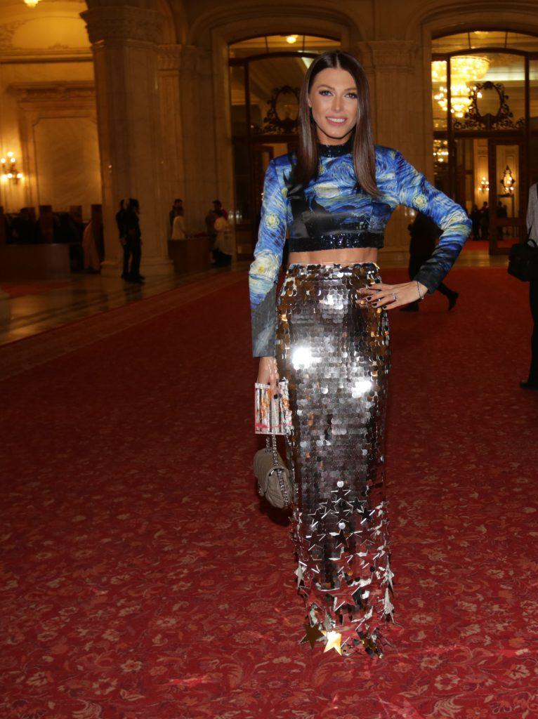 Ilinca Vandici, la Gala Elle Style Awards 2017